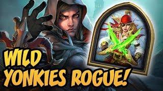 Wild Yonkies Rogue!   Saviors of Uldum   Hearthstone