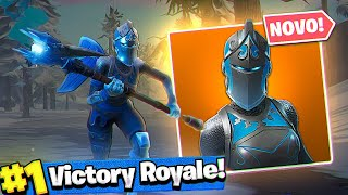 Frozen Rubra rider!! * NEW SKIN * (Fortnite Battle Royale)