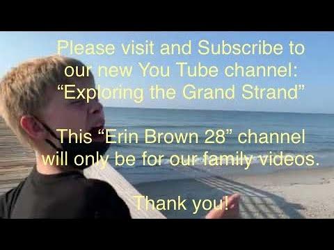 Myrtle Beach State Park Pier - YouTube