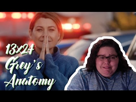 Greys Anatomy 13x24 Reaction - THE FINALE!!!