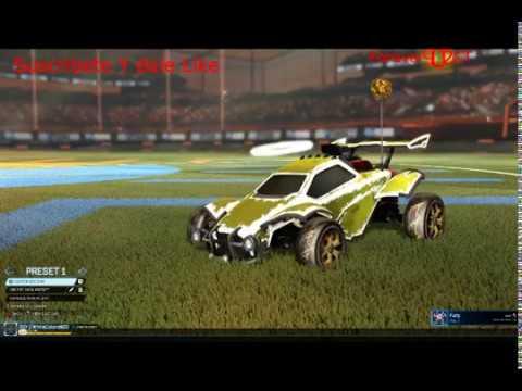 Rocket League Deceniumm pro y aureola blanca