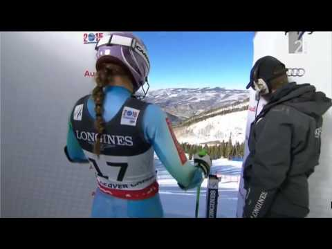 Tina Maze - World Championships in Vail/Bever Creek 2015