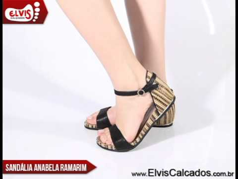 1c604bbb8 Sandália Anabela Baixa Ramarim Total Comfort 14-15202 - YouTube