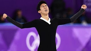 Nathan Chen rewrote the history of his Pyeongchang Olympic Games by landing 6 quadrupeds.