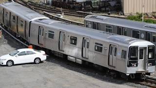 R110 subway car review