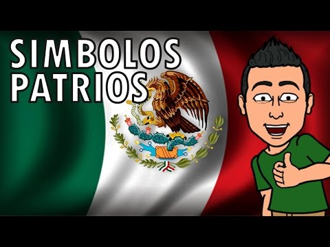 SÍMBOLOS PATRIOS MEXICANOS para niños