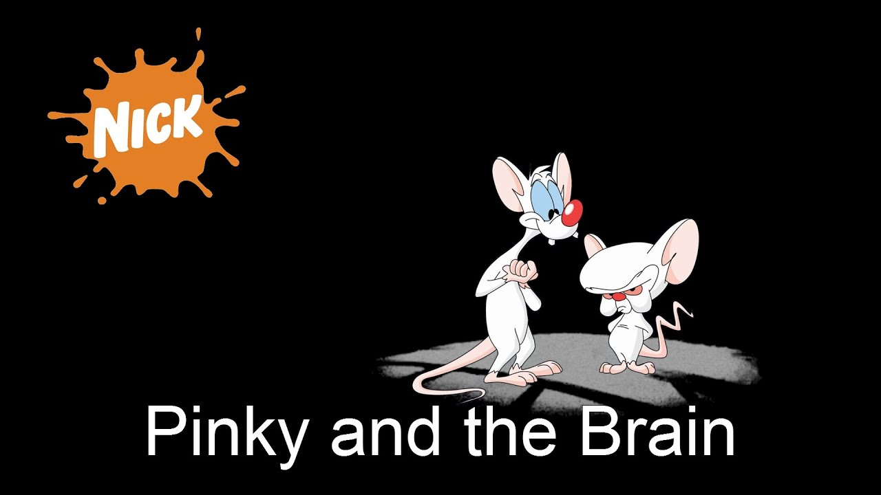 pinky and the brain nickelodeon intro remastered youtube