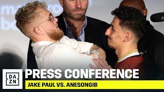 FULL PRESS CONFERENCE | Jake Paul vs. AnEsonGib