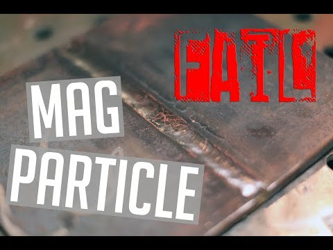Carbon Steel NDT Mag Particle (Testing The NDT Guy)