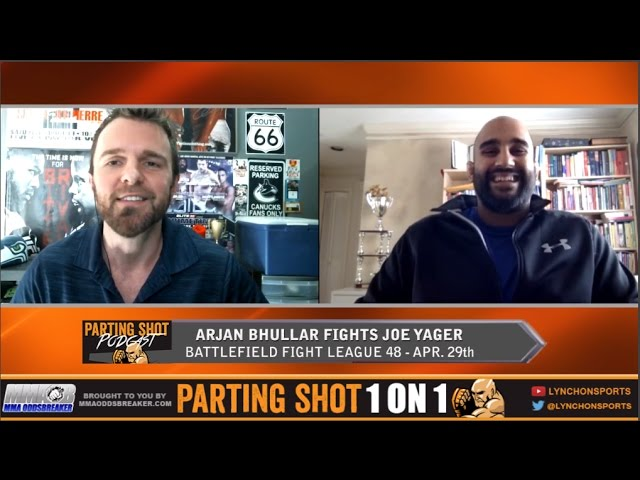 BFL 48's Arjan Bhullar talks Apr.29th fight, training with Daniel Cormier & potential UFC jump