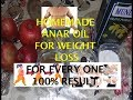 Homemade fat burring oil! Reduce belly, thighs, hips, and arms for every one! 100% result
