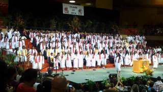 Kahuku High School class of 2014 grad song and dance