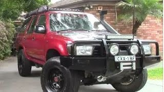 Review 1995 Toyota 4 Runner / Hilux Surf