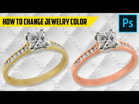 How to change Jewelry color in Photoshop Tutorial thumbnail