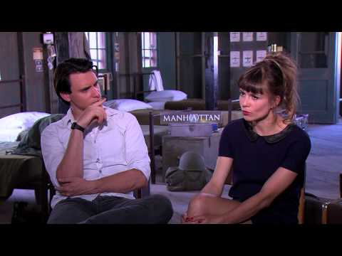 Katja Herbers and Harry Lloyd talk about Manhattan