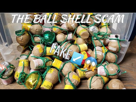 Fake vs Real Ball Shell