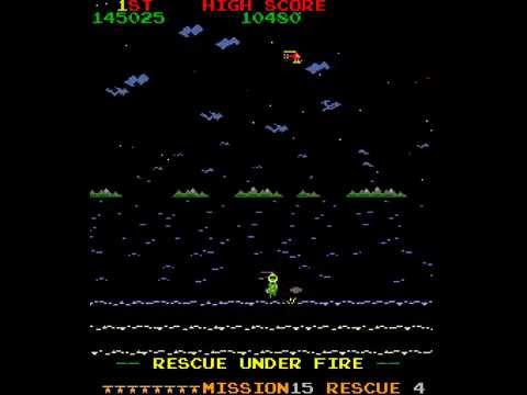Arcade Game: Rescue (1982 Stern Electronics)