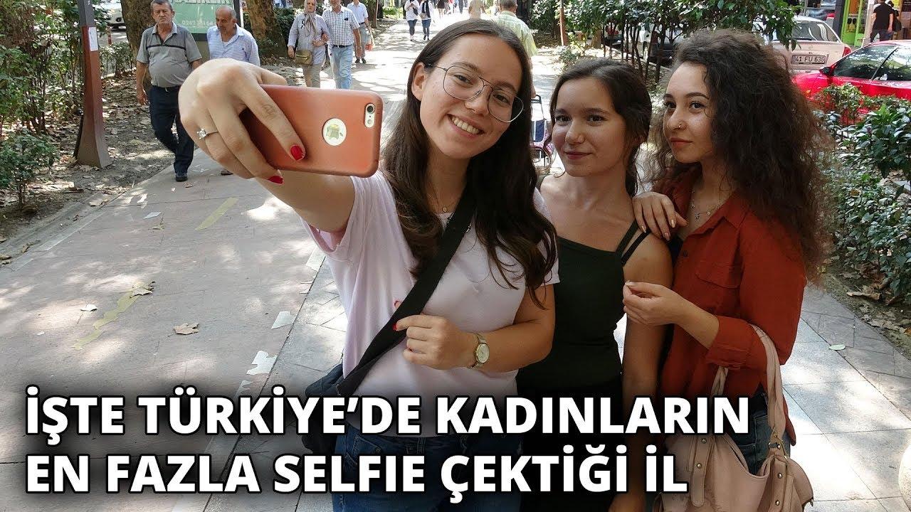 İşte Türkiye'de kadınların en fazla selfie çektiği il