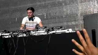 Keane - Silenced By The Night (Alesso Remix) LIVE @ Masquerade Motel 2012