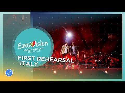 Ermal Meta e Fabrizio Moro - Non Mi Avete Fatto Niente - First Rehearsal - Italy - Eurovision 2018