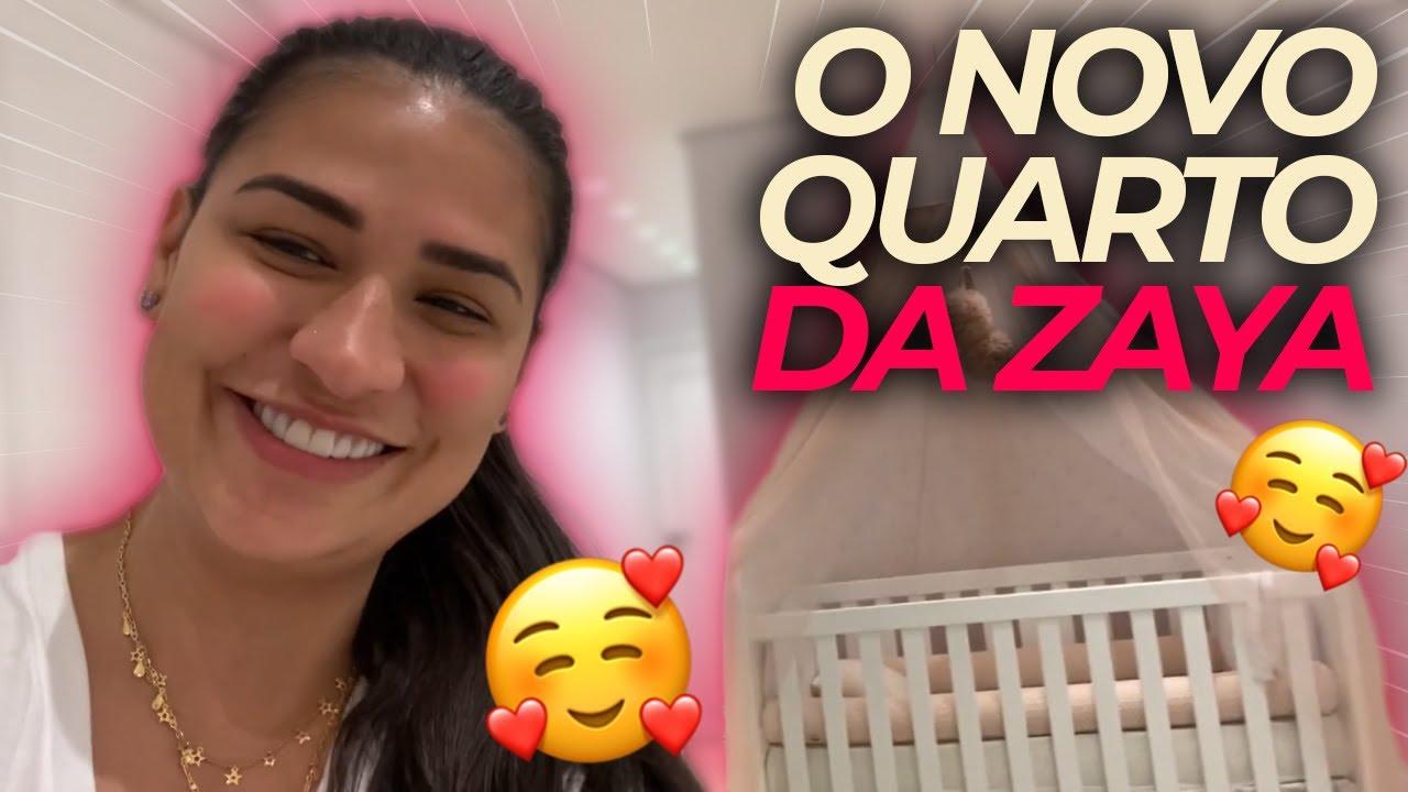 CASA NOVA EM FORTALEZA | TOUR PELO QUARTO DA ZAYA