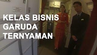 Business Class || Garuda Indonesia Boeing 777-300 Sky Team || Jakarta-Denpasar