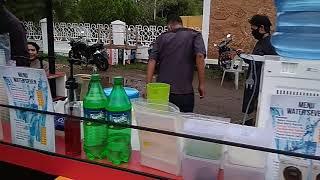 Doktoro esperanto el Aceh sebarkan menu jajanan berbuka di kota Banda Aceh ke lima benua