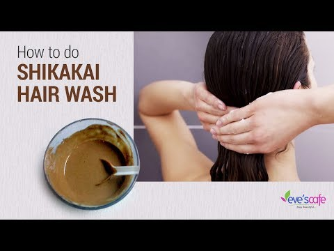HOW TO USE SHIKAKAI POWDER  (HERBAL SHAMPOO)   100 % NATURAL REMEDY FOR HAIR GROWTH