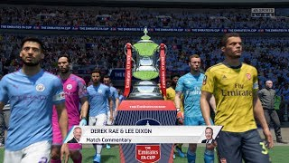 Fifa 20 - arsenal vs manchester city with trophy presentationcheck out my channel for more early content!follow me on mixer @ http://www.mixer.com/bl...