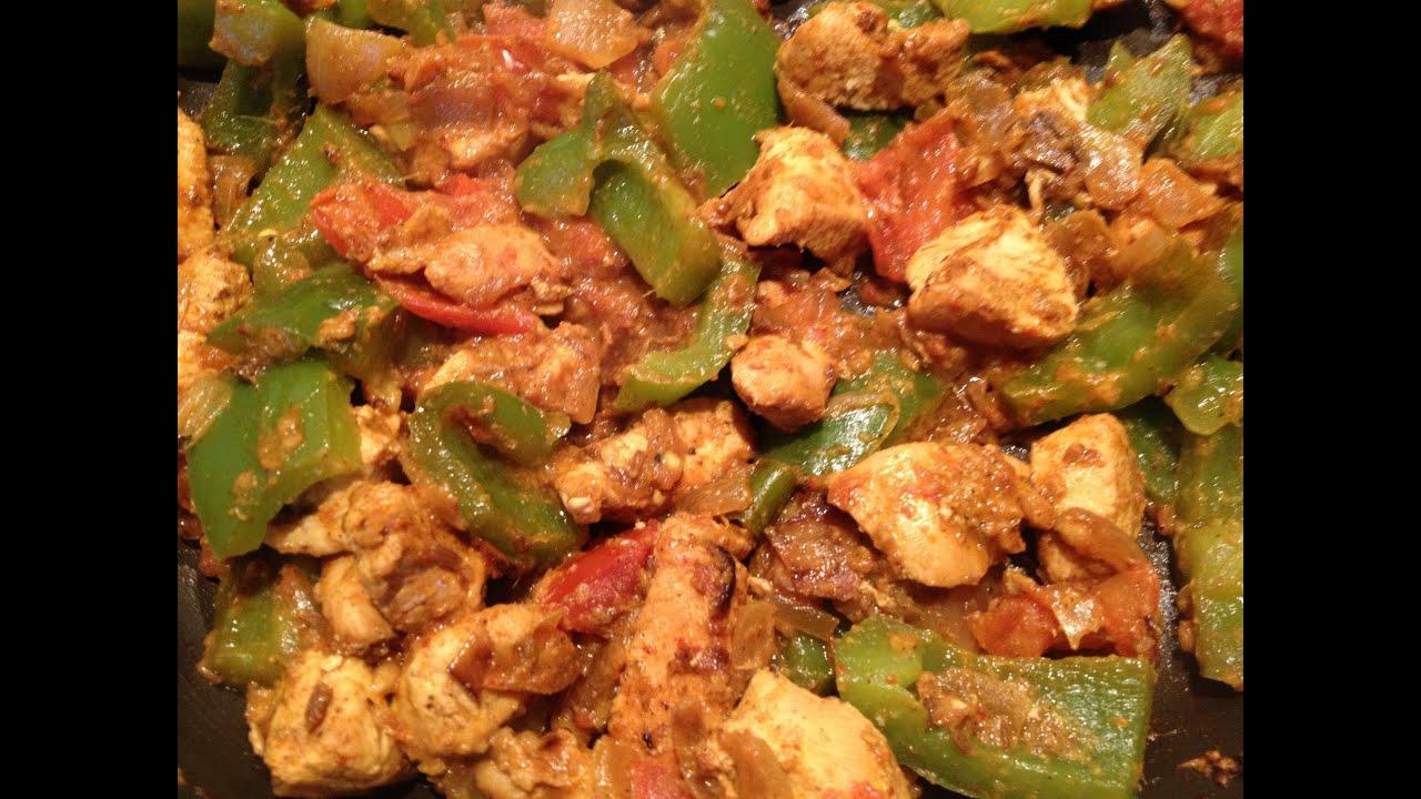 Chicken Recipes Capsicum Chicken Curry Capsicum Chicken Recipe Monica Youtube