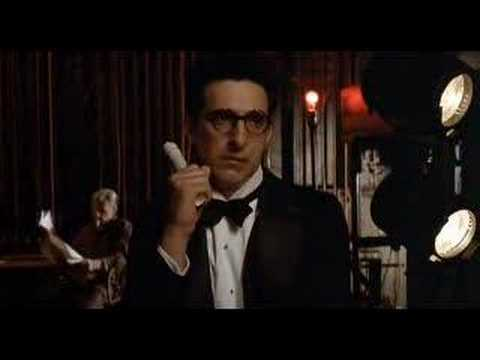 a view on the film and principles of barton fink In a movie filled with awesome supporting performances by john goodman, judy davis, barton fink is arguably the coen brothers masterpiece not a single scene is wasted, and that includes the washed out backgrounds, the costumes worn by the characters, and every single bit of juicy dialogue.