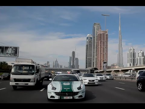 Supercar Police Patrol in Dubai - full documentary