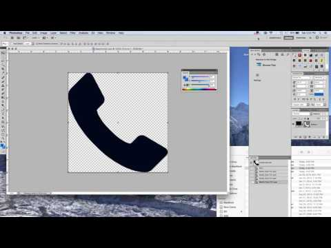 How To Change An Icon Color In Adobe Photoshop