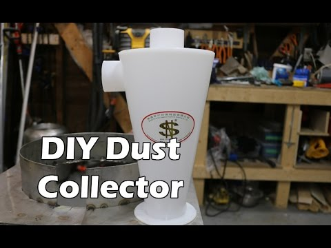 Dust Deputy Cyclone Knock Off Build and Review