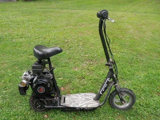 Scooter Conversion Electric to Gas