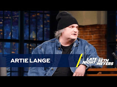 Artie Lange Went Golfing with Donald Trump and Eli Manning