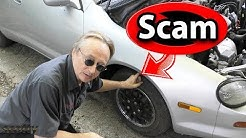 5 Scams Your Car Mechanic Doesn't Want You to Know