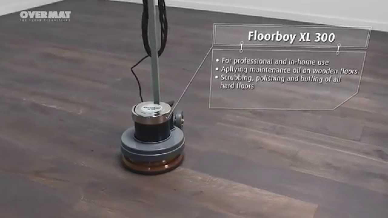 Overmat Floorboy Xl300 En