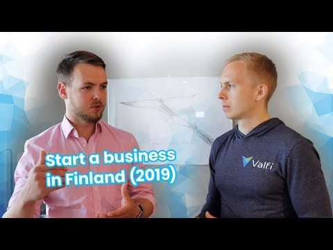 Start a Business in Finland (2019)