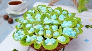 Как испечь шпинатные блины - Рецепты от Со Вкусом