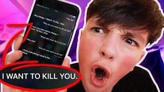 SECRET SIRI TRICKS YOU HAVE TO TRY!!! (Hidden Siri iPhone Mystery Commands)