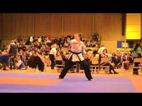 Georgia Devaney - Musical Forms - WAKO British Championships