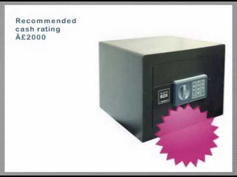 Chubb 'Black Box' Electronic Safe