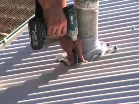 Asbestos Roof Removal Amp Roof Replacement Video Youtube