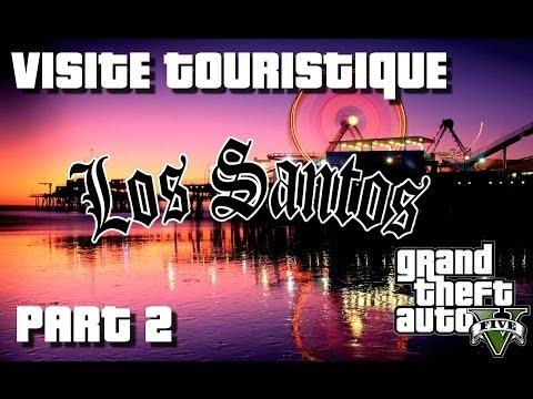 GTA 5 - Les 7 lieux à visiter à LOS SANTOS | Visite Touristique avec Kim (Part 2) |Xbox 360|