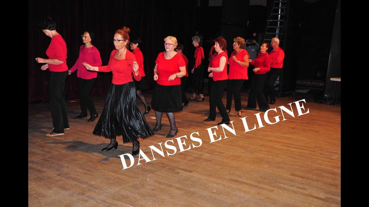 D monstration de danses en ligne salle olympe de gouges for Danses de salon en ligne