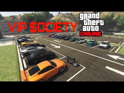 VIP $OCIETY - Encontro de Carros - GTA V