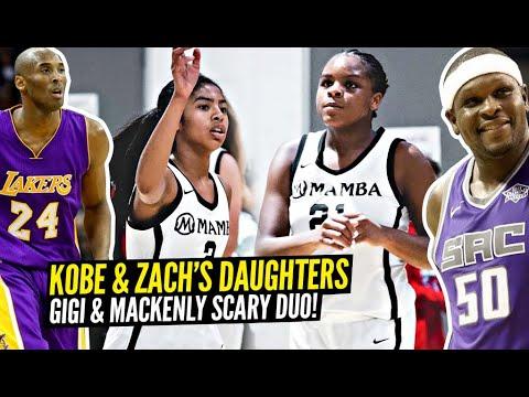 【影片】厲害了!科比女兒Gigi與Zach Randolph的女兒一隊統治比賽