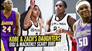 Kobe's Daughter Gigi Bryant & Zach Randolph's Daughter Mackenly TEAM UP & Win 8th Grade Championship