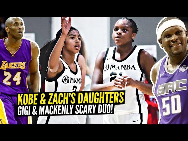 【影片】女版OK組合!Kobe女兒和Randolph女兒並肩作戰,老大場邊執教!